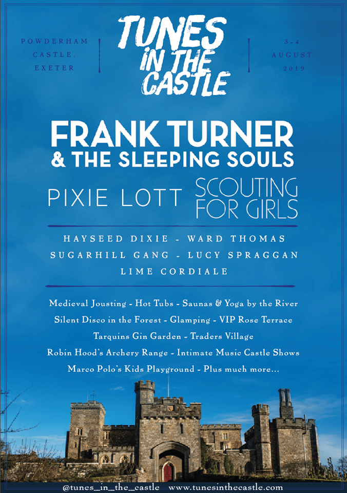 SEE Frank Turner, Scouting for girls, Pixie Lott, Sugarhill Gang and Hayseed Dixie at Exeter's new festival 'Tunes in the Castle' this summer. Exploring Exeter