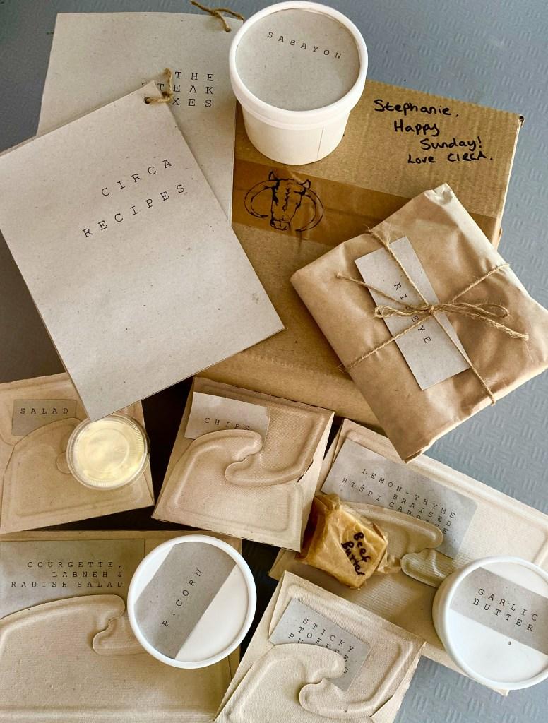 circa 1924 recipe box takeaway exploring exeter 2020