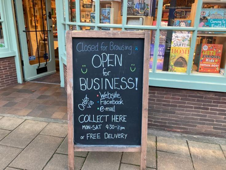Crediton Community Bookshop is open, Exeter, Exploring exeter, crediton