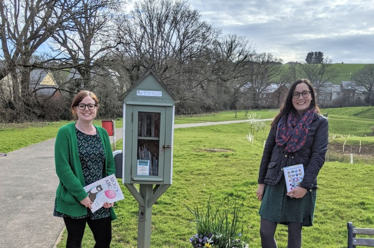Little Free Libraries Exeter by Till Lander Williams for Exploring Exeter