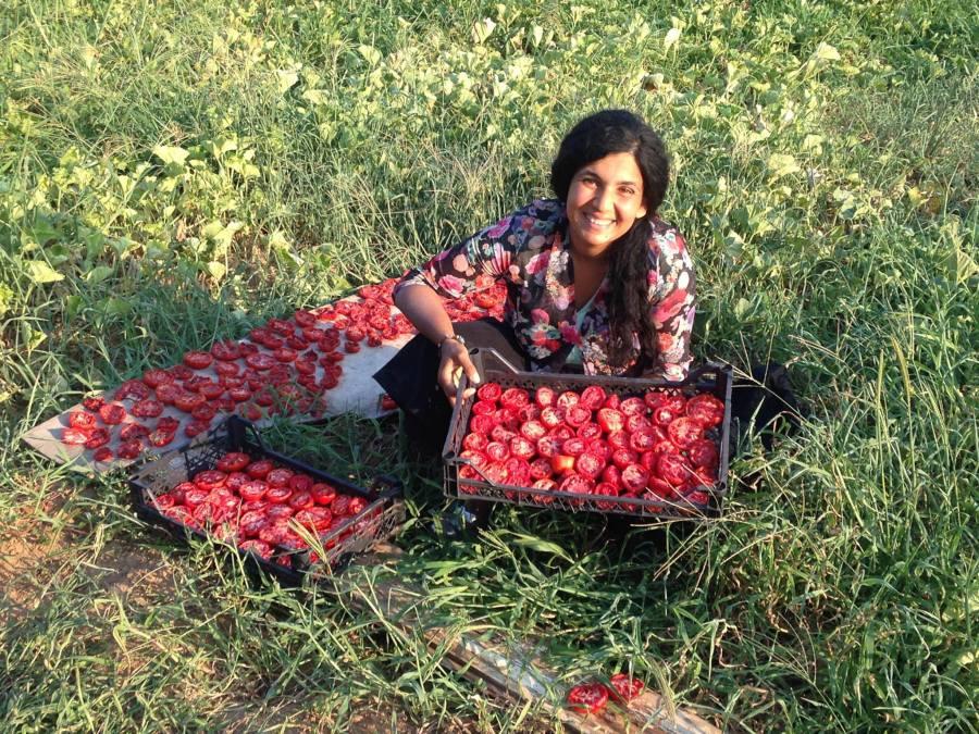 Fatma Sabat at Shillingford Farm School
