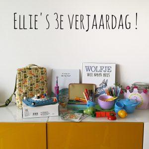 Ellie's derde verjaardag