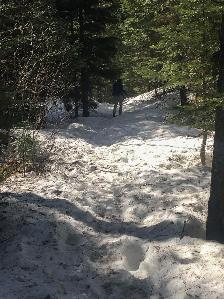 deeper snow
