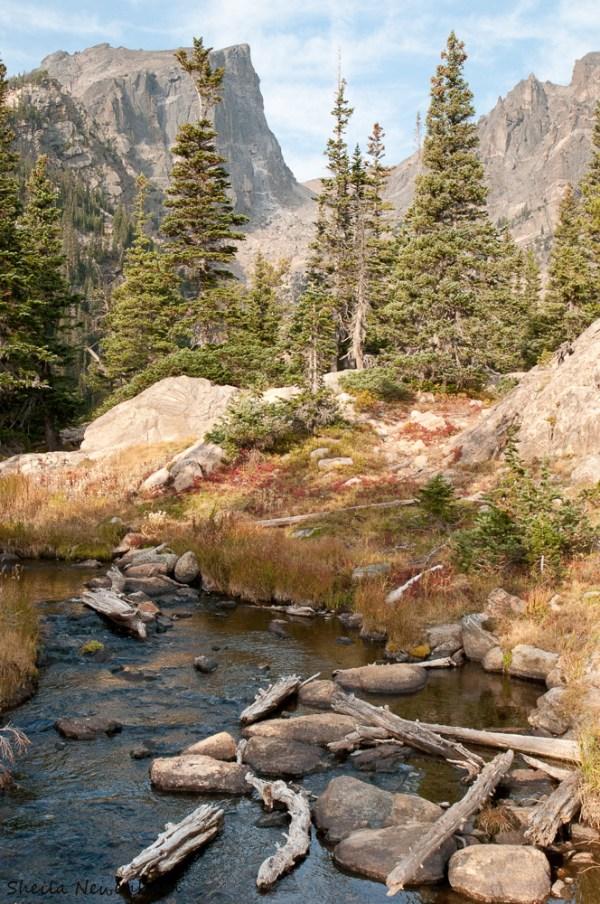 Rocky Mountain National Park Landscape