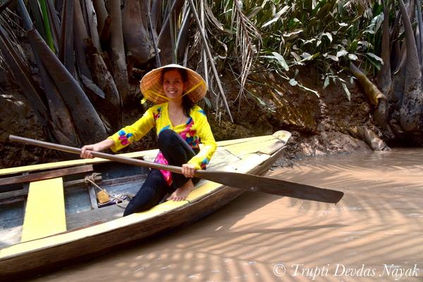 Canoe Mekong Delta in Boat Vietnam
