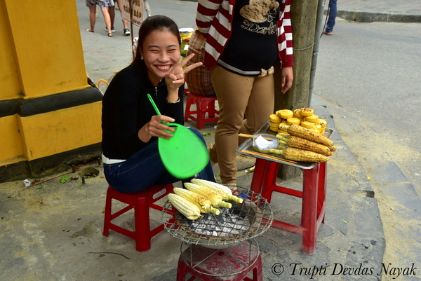 Corn On The Cob in Vietnam