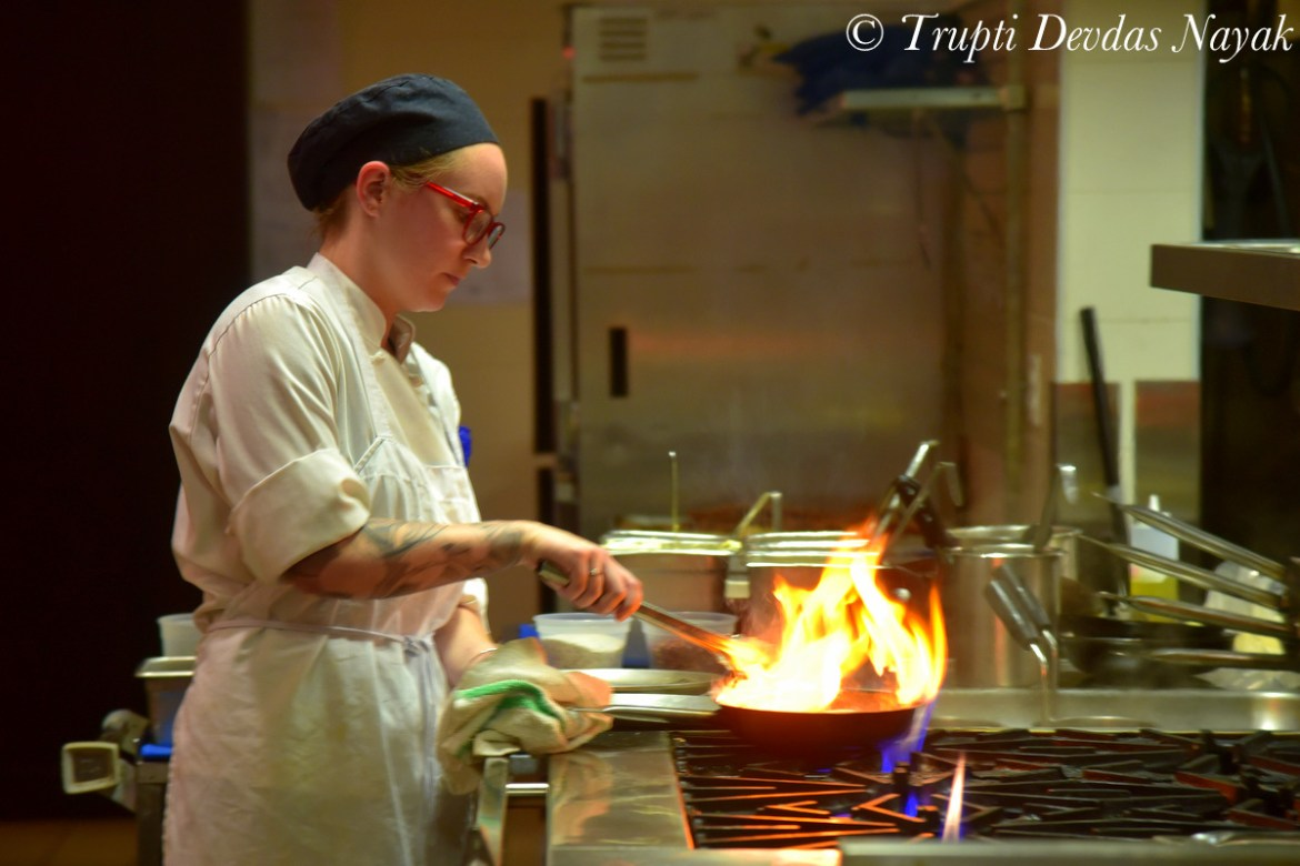 Cooking up delicacies at the Niagara Falls Culinary Institute