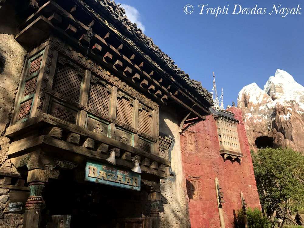Replica of Asia and Everest at Disney's Animal Kingdom