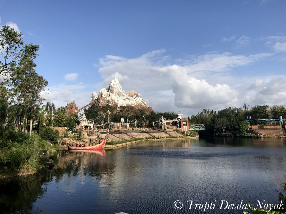 Looks like the real Asia in Disney's Animal Kingdom