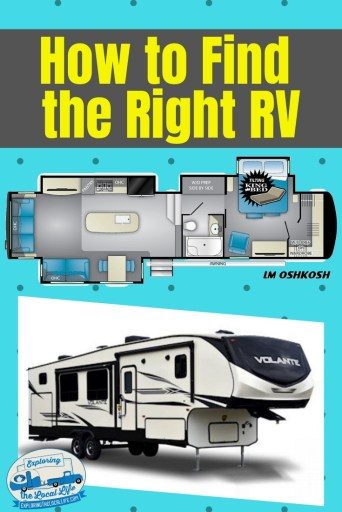 Getting ready to do a little RV shopping? Learn what to focus on before you start your RV buying process. #rvlife #fulltimerving