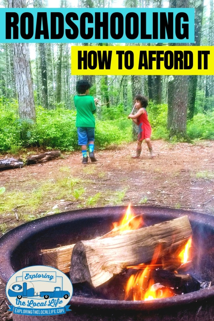 How do you afford Roadschooling on a budget? Find out how to keep your Roadschool journey free or low cost while keeping the kids happy and learning. #rvlifewithkids #rvingwithkids #rvlife