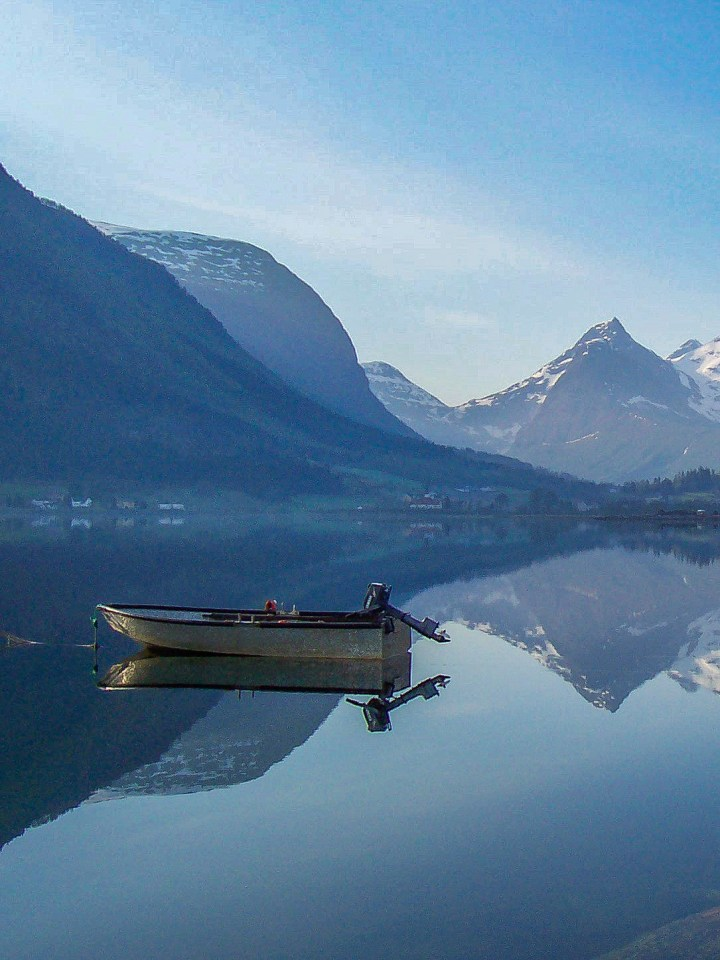 Exploring with my camera in Romsdal, Norway