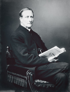 The Anglican pastor Sabine Baring-Gould