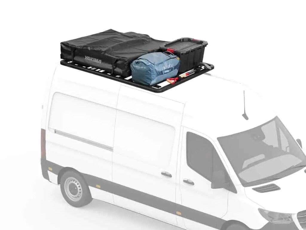 sprinter camper van roof rack options