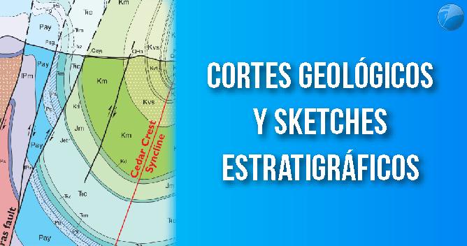 Diseño de Cortes Geologicos y Sketches Estratigraficos EXPLOROCK PERU
