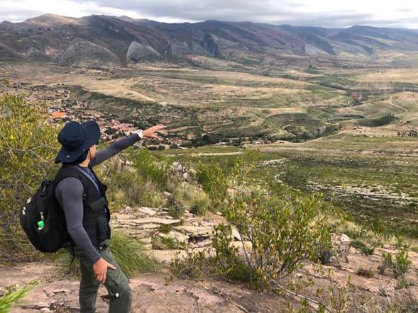 Fotografia 1. Geologia del Parque Nacional Torotoro