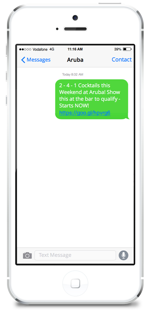 Aruba SMS