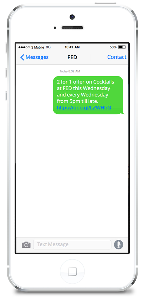 FED SMS