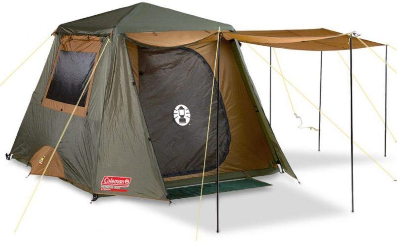Cabin Tent Coleman 8 Parts 10 Dark Room