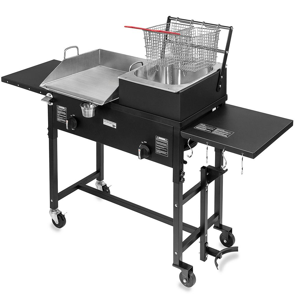 portable grill table tabletop canada