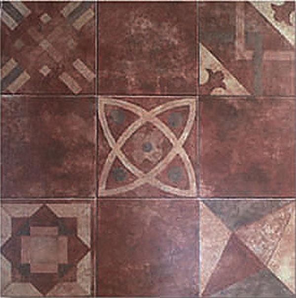 PATIO MIX LADRILLO 45 x 45