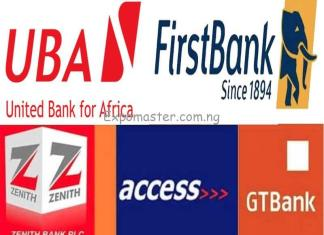 five major nigerian banks
