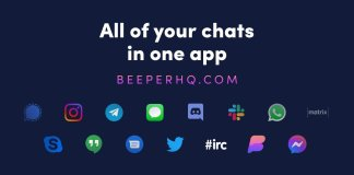 BEEPER APP ALL YOUR SOCIAL MEADIA APP IN ONE BOX
