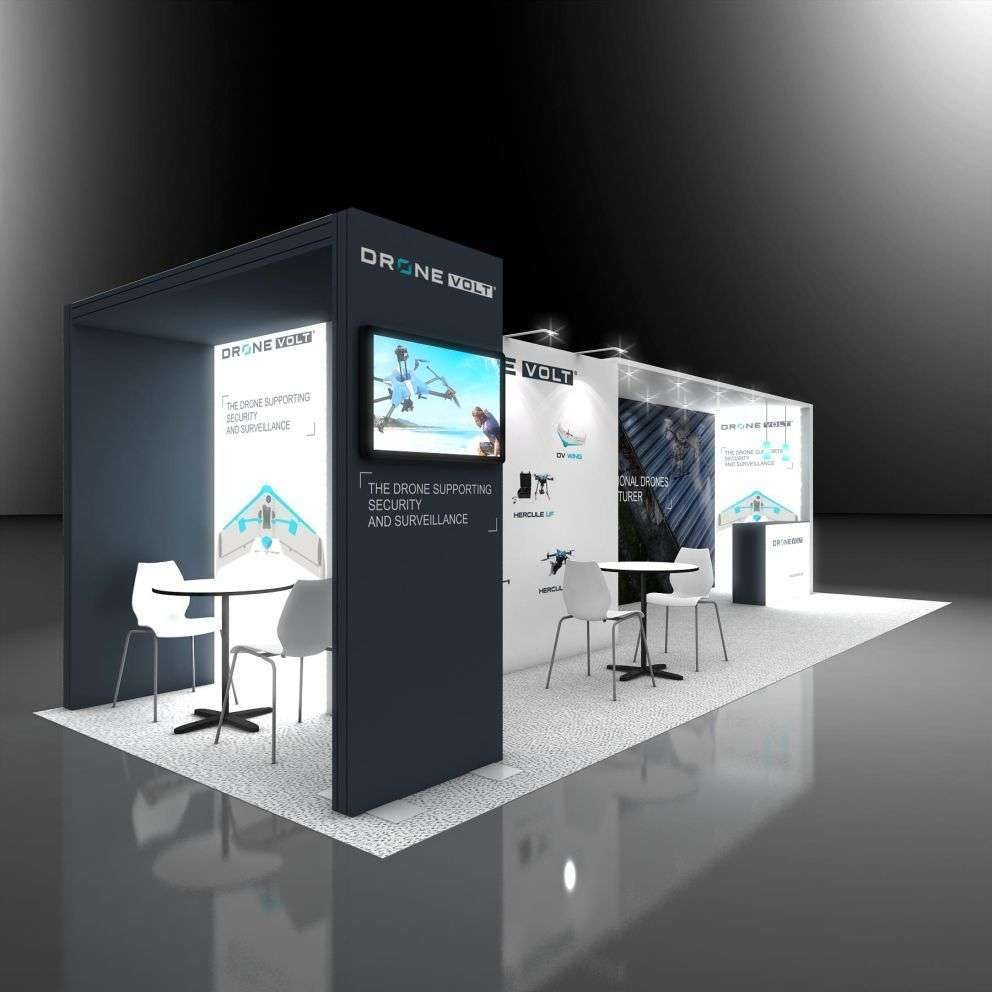 20 X 40 Trade Show Booth