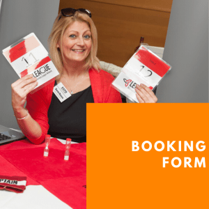 Exhibitor Booking Form at Warrington Business Show