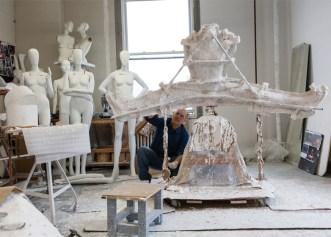 Ralph Pucci e o studio