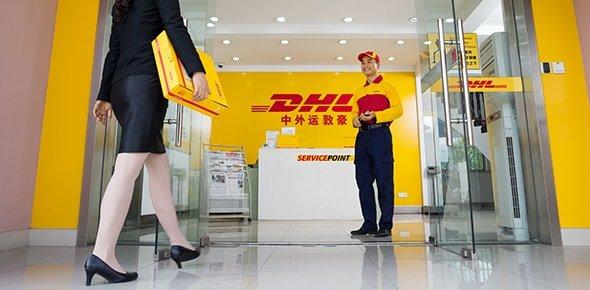 punto de servicio en China