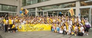 Jornada Global del Voluntariado 2015 DHL - Deutsche Post