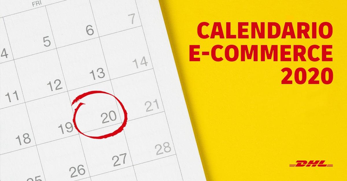 Calendario e-commerce 2020