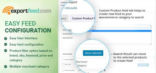 exportfeed with new UI