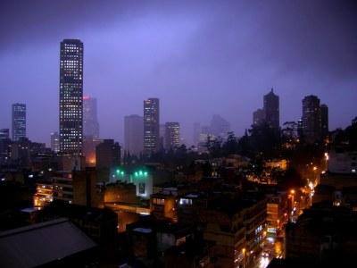 Skyline: Bogota, Colombia