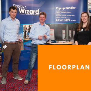 Exhibiting Floorplan for Warrington Business Show