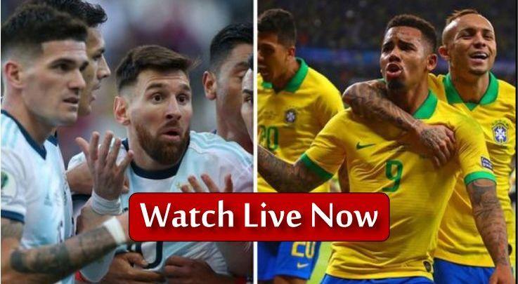 Argentina vs Brazil Live