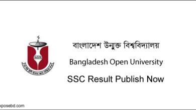 BOU SSC Result