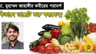Dr Jahangir Kabir Diet Chart