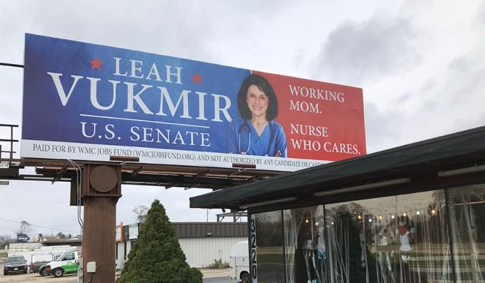 Leah Vukmir billboard