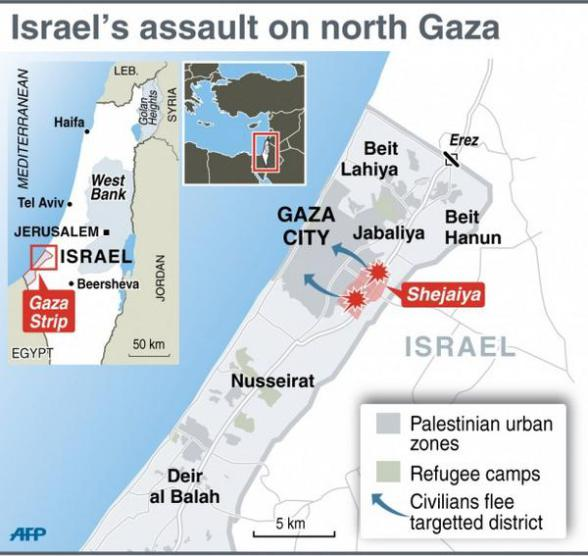 assault-on-shejaiya-gaza-palestine-massacre-map