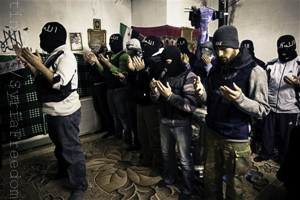 Islamic fighters.