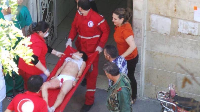 40 Children Killed in Homs after Double Explosions  (1)