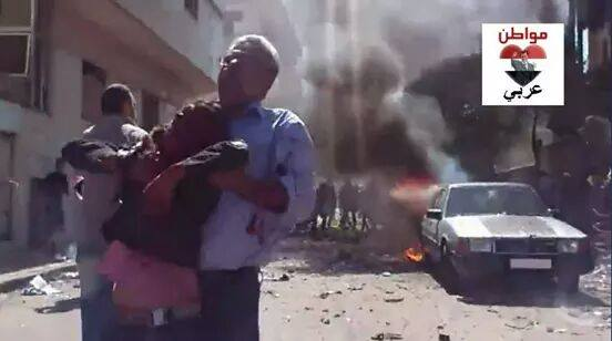 40 Children Killed in Homs after Double Explosions  (4)