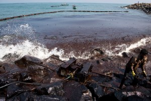 Chennai oil spill environmental catastrophe