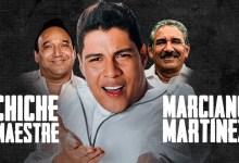 Rafa Pérez con los compositores José Alfonso 'Chiche' Maestre y Marciano Martínez