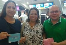 Con los emprendedores Angélica Sierra y Jairo Jiménez