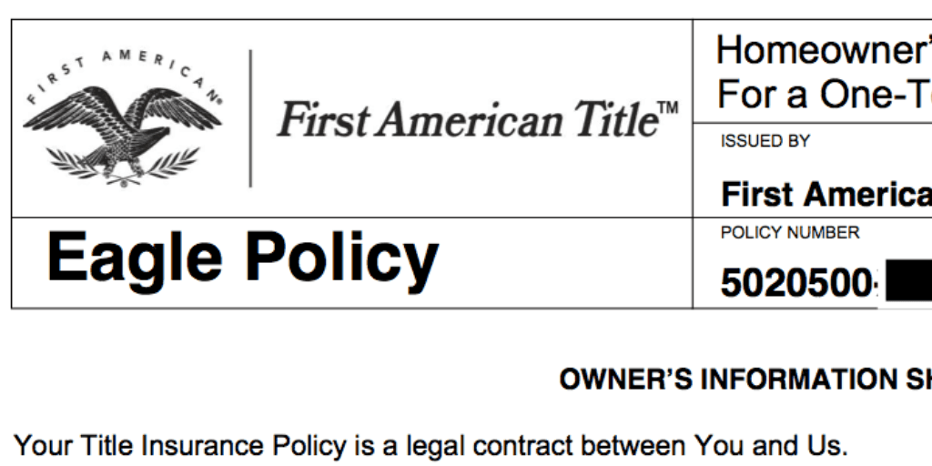 The Eagle Policy offers additional coverage