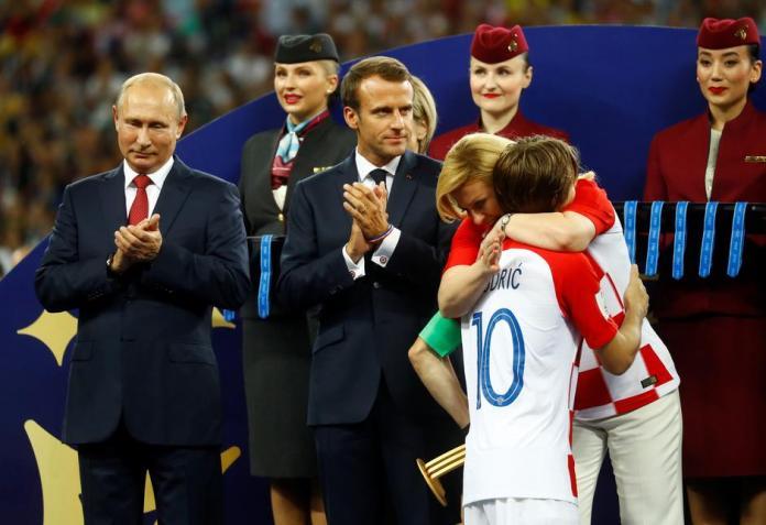 Luka Modrić proglašen najboljim igračem SP-a 2018.   Author: Igor Kralj/PIXSELL