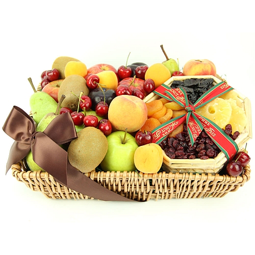 Tropical Mix Fruit Basket Send Fruit Basket UK